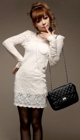 Как выбрать и с чем носить белое платье: фото   469x270