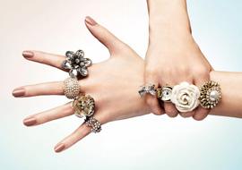 красивая бижутерия фото кольца