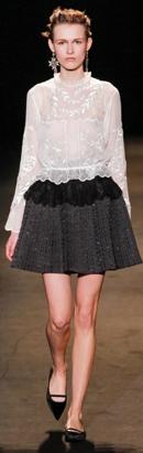 модные блузки осень-зима 2013-2014