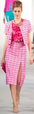 новая фуксия - на фото актуальные цвета одежды лето 2013