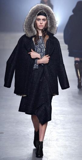 удлиненные женские куртки осень-зима 2013-2014 фото