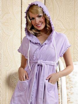 халат - самая привычная домашняя одежда