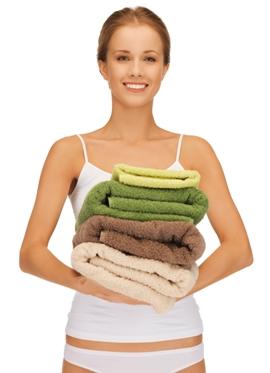 Как сделать махровые полотенца мягкими и как правильно стирать махровые полотенца
