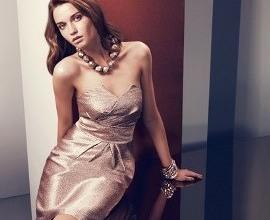 Платье без с открытым декольте
