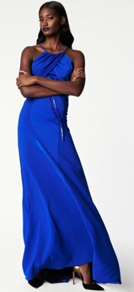 повседневный длинные платья 2014