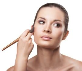 макияж для квадратного лица
