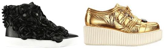 Модные женские кроссовки 2013 фото Chanel