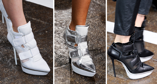 модные женские кроссовки 2013 фото DKNY