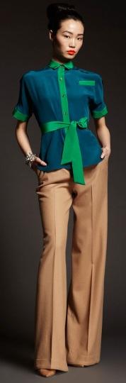 блузки осень-зима 2013-2014 в восточном стиле