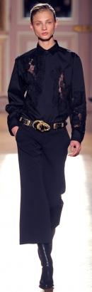 модные блузки в стиле мужской рубашки осень-зима 2013-2014 фото