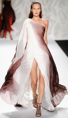 необычные вечерние платья 2014