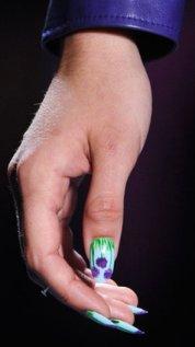 модные рисунки на ногтях весной и летом 2014 фото