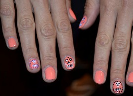 самый модный рисунок на ногтях весна-лето 2014 фото