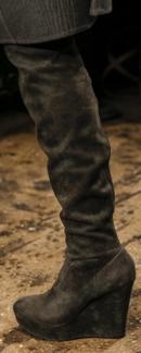 женские сапоги осень-зима 2013-2014 фото