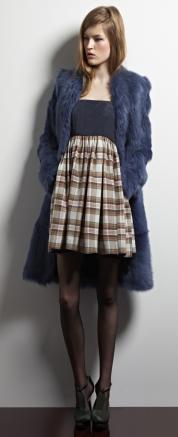 модные цветные шубы 2013-2014 фото