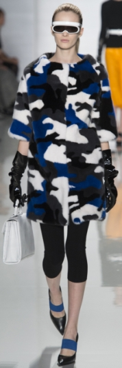 модные шубы с короткими рукавами зима 2013-2014 фото