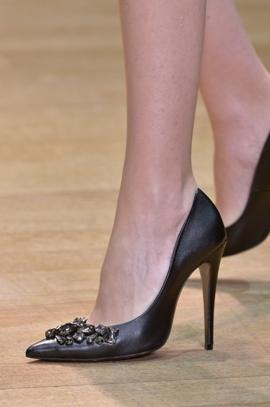 Материалы и цвета модных туфель 2013 2014
