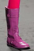 модные сапоги без каблука осень-зима 2013-2014 фото
