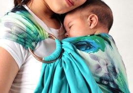 различные приспособления для ношения малыша