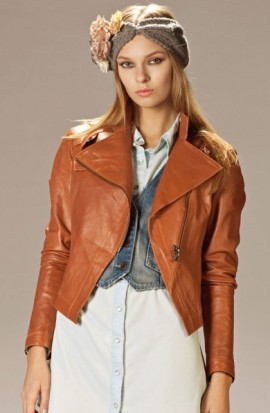куртка косуха в модных фото-луках