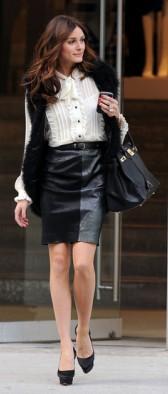 С чем носить кожаную юбку: топ-3 идеи от стилистов Единственной (фото) в 2019 году
