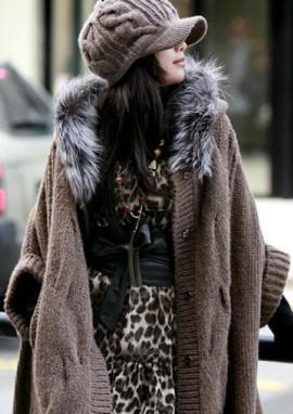 с чем носить пальто с коротким рукавом фото