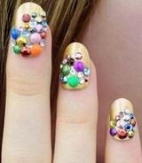 дизайн ногтей осень-зима 2013-2014 фото