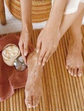 отшелушивающие скрабы для ног в домашних условиях