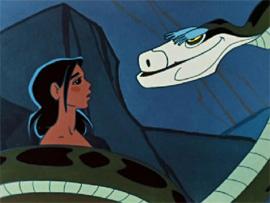 топ-5 мультфильмов и кино со змеями для детей