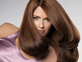 услуги салонов красоты - красивые волосы зимой