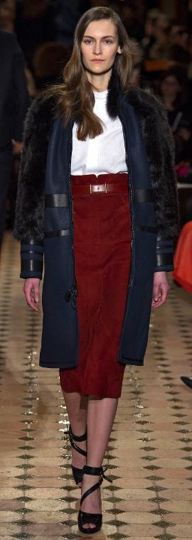 модные дубленки 2013-2014: женские модели с рукавами из меха