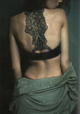 необычное женское белье 2015 черное