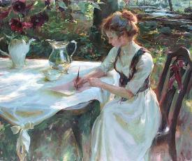 Пишите письма своим любимым