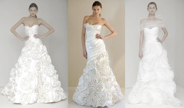 модные свадебные платья 2011 фото