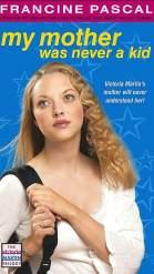 Аманда Сейфрид на обложке книги Франсин Паскаль