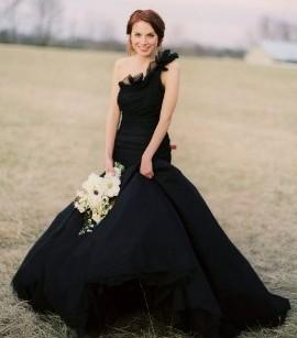 1b29ac2aacc Черное свадебное платье – отличный выбор! Фото-подборка самых ...