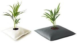 цветочный горшок-подушка