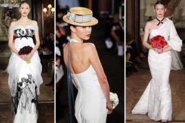 Carolina Herrera свадебная мода 2011 фото