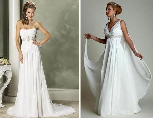 Свадебное платье фото груди