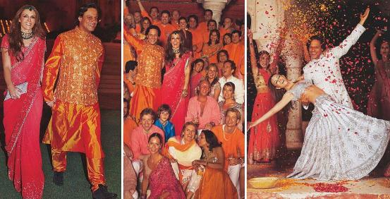 Свадьба в индийском стиле в россии