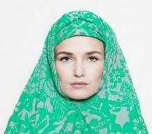 красиво завязать платок на голове