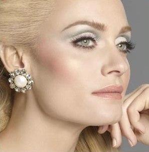 фотографии зимнего макияжа