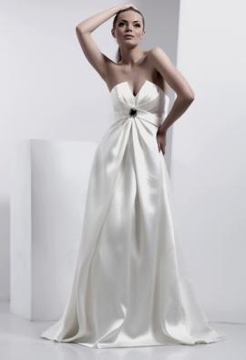 Как выбрать свадебное платье по фигуре: греческое свадебное платье, стиль ампир