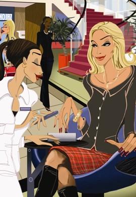 Когда женская красота действительно в ваших руках: курсы косметолога, парикмахеров, обучение основам маникюра, наращиванию ногтей