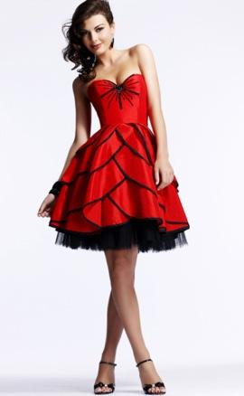 Модные платья на выпускной 2012 фото и