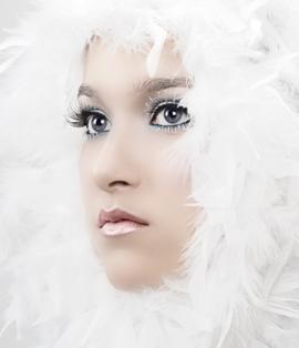 праздничный и модный новогодний макияж 2012