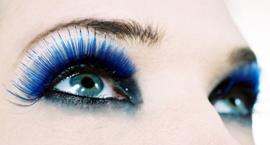 Акцент новогоднего макияжа 2013