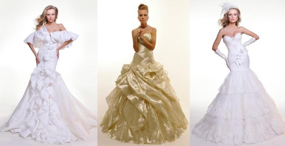 модные свадебные платья 2011 года