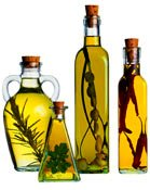 Olive oil is Greece.  Aromatic oils in cooking