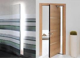 Оригинальные двери. Необычный дизайн межкомнатных дверей фото